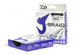 Шнур Daiwa J-Braid X4E 0.10mm 135m Yellow
