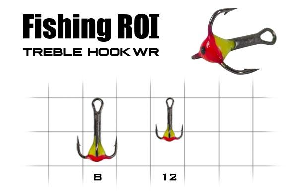 Тройник с каплей Fishing ROI 12 WR_N