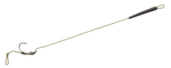 Поводок Korund 35Lb 16.4kg крюч.Matsui №2 с силик. трубочкой