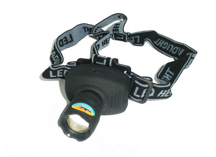 Фонарь Zoom Head Lamp 1W Led