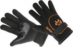 Перчатки флисовые Fishing ROI Black Fleece glover XL