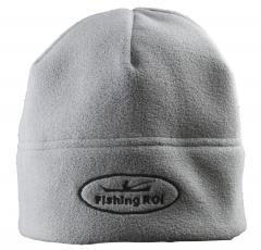 "Шапка-флис ""Fishing ROI"" серая"
