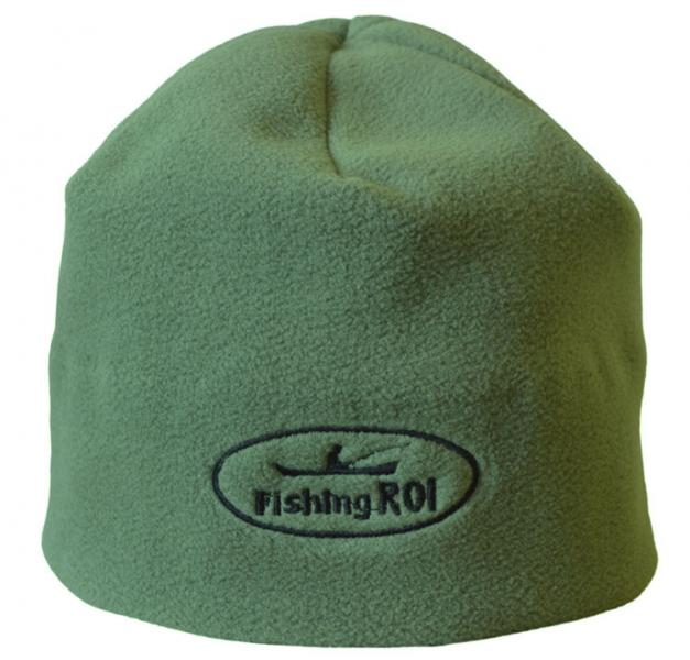 "Шапка-флис ""Fishing ROI"" олива"