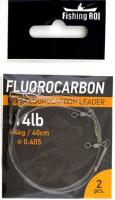 Флюорокарбоновый поводок Fishing ROI d=0,40мм. 10kg 25см