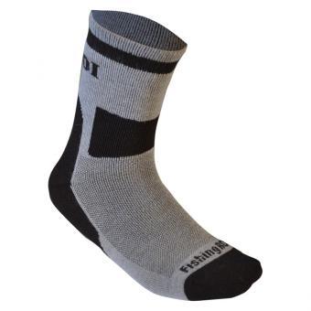 Термо носки Fishing ROI Heat Control черно-серые р.39-41