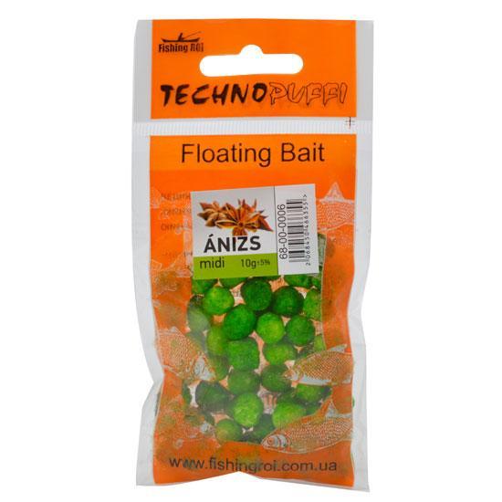 Технопуффи Fishing ROI Анис midi 8-9х10-11мм 10г