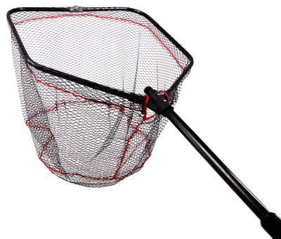 Подсак Fishing ROI складной  прорезиненная сетка 60*60 red