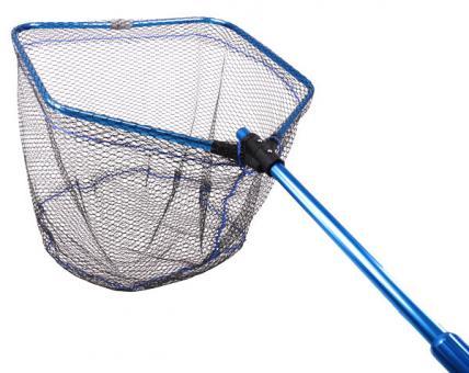 Подсак Fishing ROI складной  прорезиненная сетка 70*70 blue