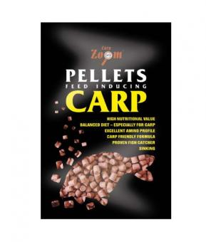 Flavoured pellets 800g red-strawberry 6mm (красный-клубника)