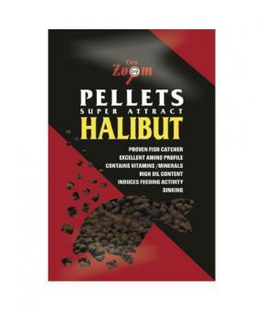 Feeding Halibut Pellets 16mm 800g (неперфорированый палтусовый пеллетс)
