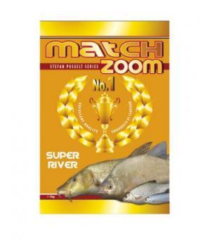 Match Zoom No.1 Super River 1kg (крупнозерн.смесь для проточных вод)