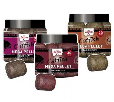 CZ Catfish Mega Pellet 30mm 230g fish-meat (рыба-мясо)