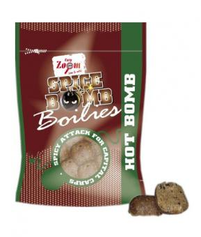 CZ Spice Bomb Boilies 28mm 400g Hot Bomb (бойлы)