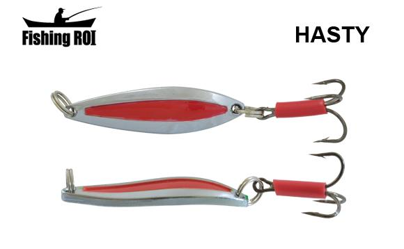 Блесна Fishing ROI Hasty 7gr Chrome Red