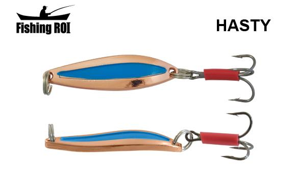 Блесна Fishing ROI Hasty 7gr Cooper Blue