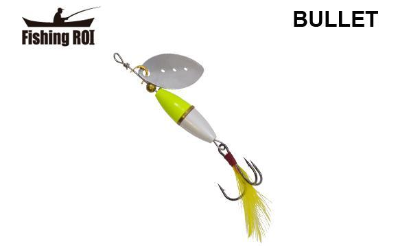 Блесна Fishing ROI Bullet 7gr 001