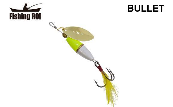 Блесна Fishing ROI Bullet 7gr 002