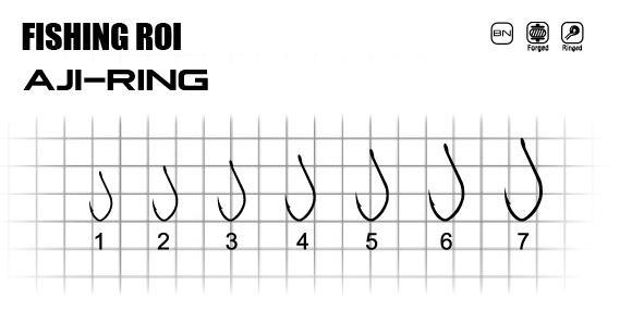 Крючки FR Aji-ring №1 (уп15шт)