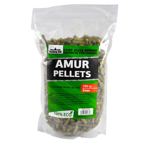 Amur Pellets 8mm FR Carp Elite Series 750гр