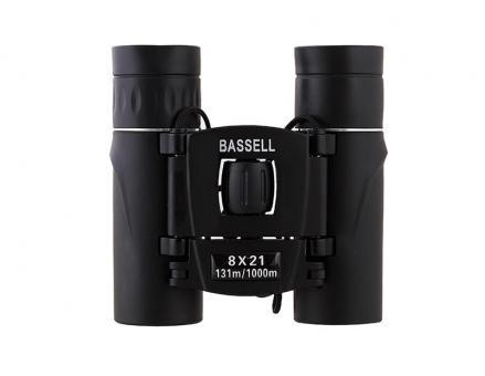 Бинокль  8x21 - BASSELL (black)