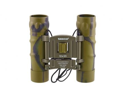 Бинокль 12x25 - TASCO (green)