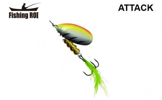 Блесна Fishing ROI Attack 13gr 001A
