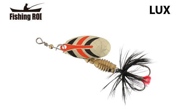 Блесна Fishing ROI Lux GRB 2 6g