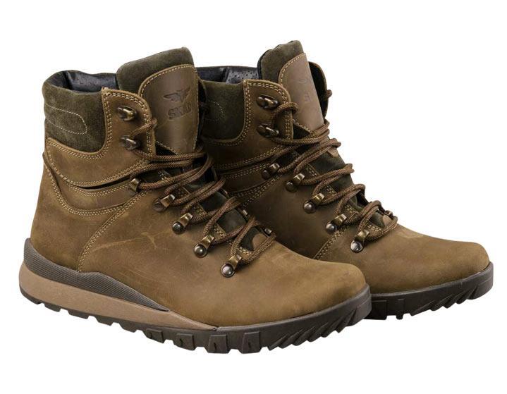 Ботинки SKADI SR4 коричневый+мех 40р.