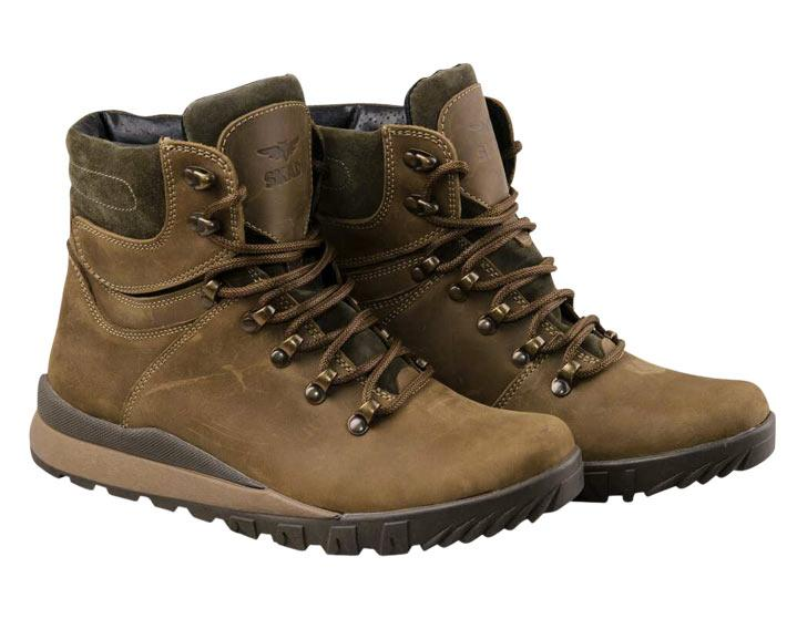 Ботинки SKADI SR4 коричневый+мех 45р.