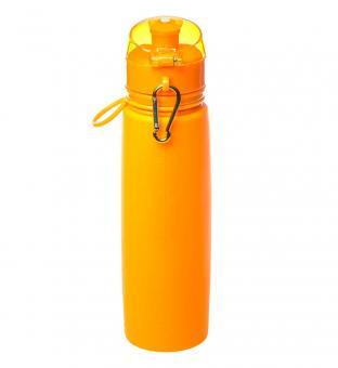 Бутылка силиконовая Tramp 700ml orange TRC-094-orange
