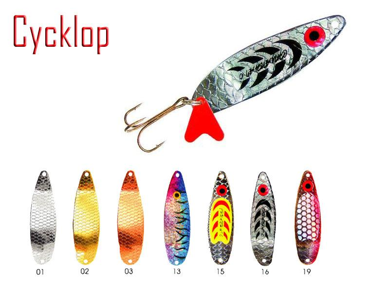 """Блесна """"Fishing ROI"""" Cycklop 6g 5cm C001-2-02"""