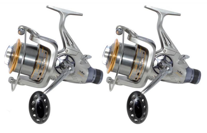 Две катушки Fishing ROI Carp BT 8000 5+1BB