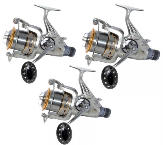 Три катушки Fishing ROI Carp BT 8000 5+1BB