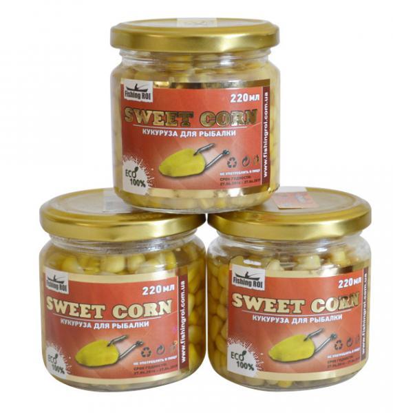 Кукуруза Sweet Corn 220ml чеснок
