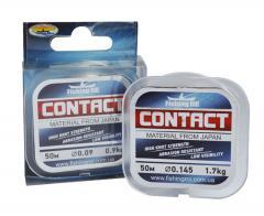 Леска поводочная Contact Fishing ROI 0,165мм 2кг 50м
