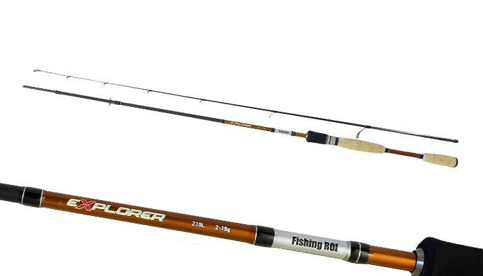 Спиннинг Fishing ROI Explorer 2-15g 2.10m