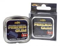 Feeder Gum Fishing ROI Black d=1.0mm 5m
