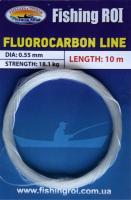 Поводковый материал Fishing ROI Fluorocarbon line 0,45мм 13,6кг 10м