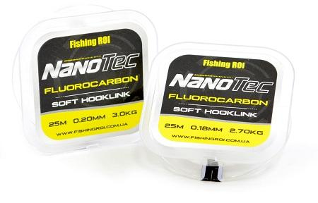 Флюорокарбон Fishing ROI NanoTec 0,18мм 2,7кг 25м