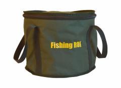 Ведро Fishing ROI с крышкой d=30см