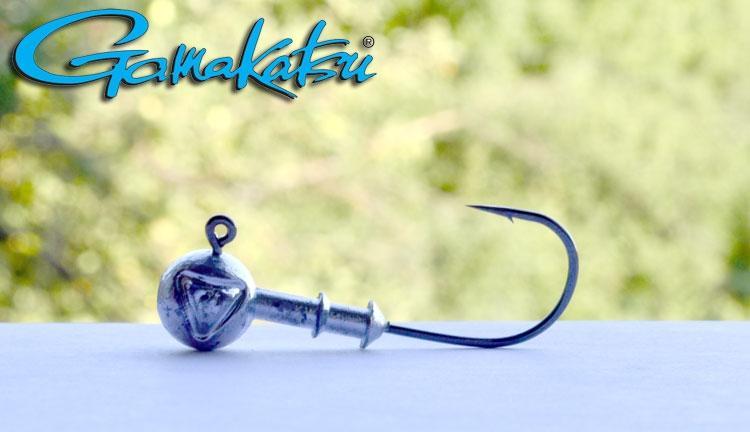 Джиг головка на крючке Gamakatsu 10гр №1/0 (уп.5шт)