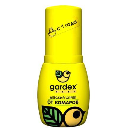 """""""Gardex"""" Baby Аэрозоль на детскую одежду от комаров и клещей 100мл"""