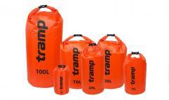 Гермомешок Tramp PVC Diamond Rip-Stop оранжевый 25 л TRA-118-orange