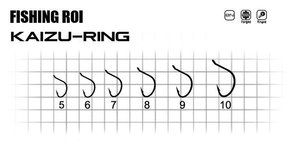 Крючки FR Kaizu-ring №10 (уп13шт)