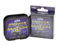Леска Fishing ROI Nautilus Match Line 150м 0,165мм 2,36кг