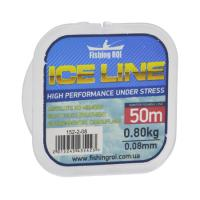 Леска Fishing ROI ICE LINE d=0.18mm 2.3kg 50m