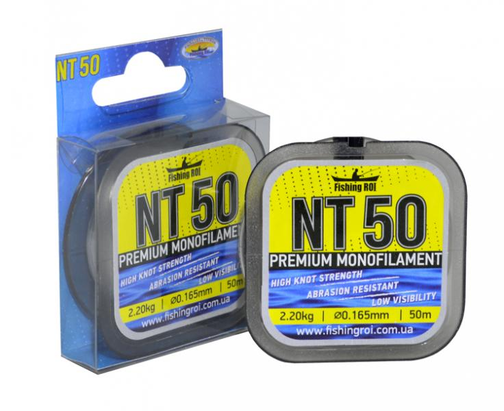 Леска Fishing ROI NT50 d=0.074mm 0.8kg 50m