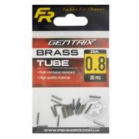 Обжимные трубочки Fishing ROI Brass tube d-0.6mm