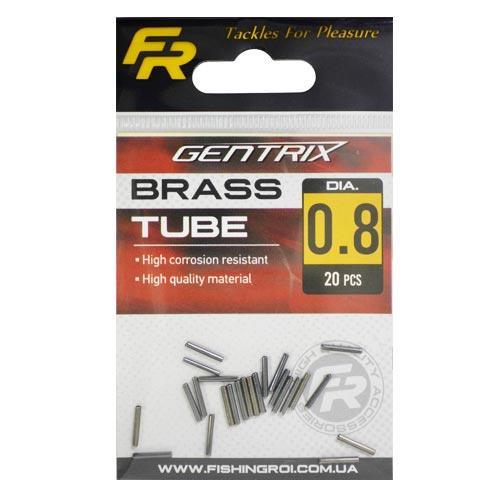 Обжимные трубочки Fishing ROI Brass tube d-1.2mm