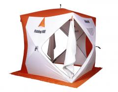 "Палатка для зимней рыбалки ""Fishing ROI"" Cyclone-2 Куб (180*180*205см) white-orange"